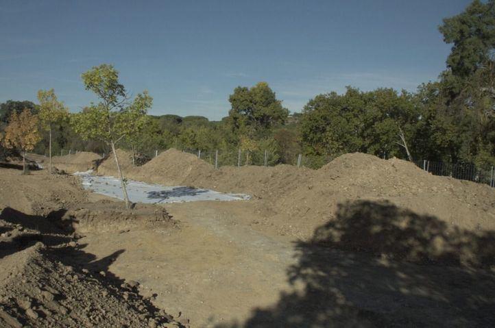 Yacimiento romano hallazgo en la Casa de Campo.
