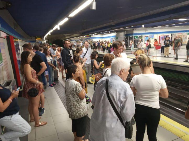 Convocada una huelga de 24 horas en Metro el 17 de octubre