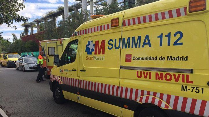 Foto de archivo de una ambulancia del Summa 112.