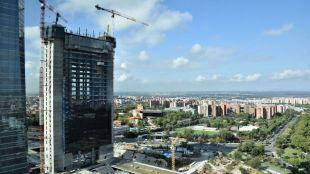 Así es Caleido, la nueva torre que definirá la silueta de Madrid