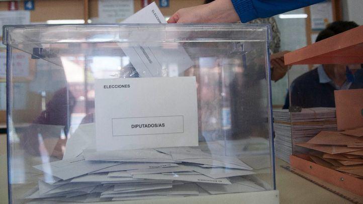 Votación en las pasadas elecciones generales.
