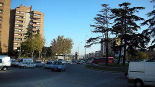 Reordenar el tráfico en Plaza Elíptica para reducir uno de los mayores focos de contaminación