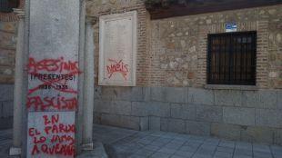 La Parroquia de San Miguel Arcángel, vandalizada