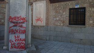 Pintadas en la Parroquia San Miguel Arcángel.