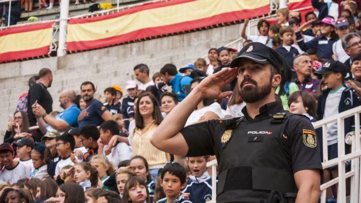 La Policía Nacional exhibe sus mejores unidades por décima vez en Las Ventas