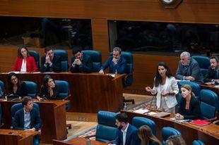 Rocío Monasterio ha defendido la PNL sobre la reducción de consejerías en el Gobierno de la Comunidad de Madrid