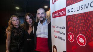 Bianca Kovacs, Nerea Garmendia y Ángel del Moral.