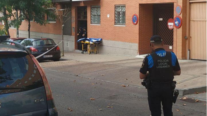 La Policía Nacional libera a la mujer secuestrada por un hombre en Leganés