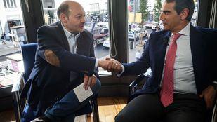 Juan Luis Yagüe, CEO de los Colegios Casvi, visitó la Terraza de Gran Vía.