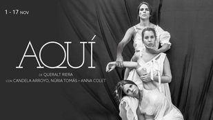 El monólogo a tres voces Aquí, en el teatro Fernán Gómez