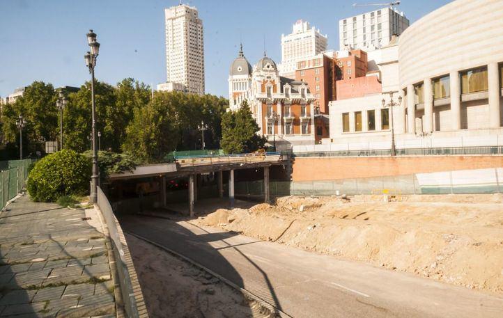 Los restos hallados en Bailén corresponden al Palacio de Godoy