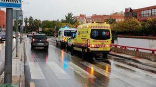 Atropellada una mujer en Alcorcón cuando llevaba a su bebé en un carrito