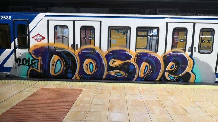 Detenido el grafitero que apuñaló a un vigilante de Metro en septiembre