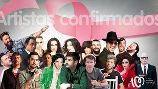 Artistas confirmados para el concierto del 19 de octubre