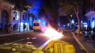 Revueltas en Cataluña por la sentencia del procés.