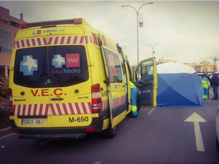 Herido grave un motorista arrollado por un coche en la M-31