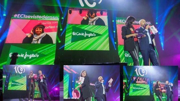 El Corte Inglés patrocina el concierto de Cadena 100 Por Ellas en apoyo a la lucha contra el cáncer de mama