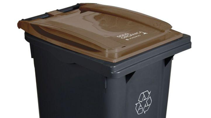 El cubo marrón de materia orgánica llega esta semana a ocho nuevos distritos