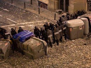 Quinta noche de protestas: 54 detenidos y 182 heridos