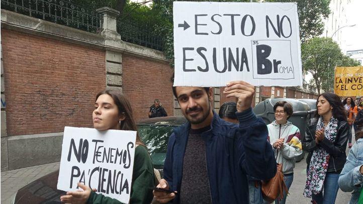 Marcha por la Ciencia en Madrid