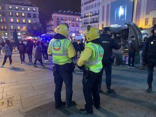 El Procés en Madrid: 12 detenidos y 26 heridos en una noche de protestas