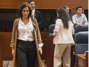 Ayuso pedirá que no se autoricen manifestaciones pro-independencia hasta que cese la violencia en Cataluña