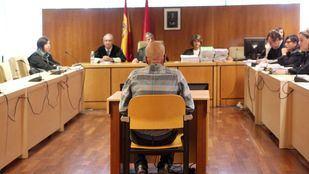 Pedro Luis Gallego, conocido como el violador del ascensor, durante su primer día del juicio en la Audiencia Provincial de Madrid
