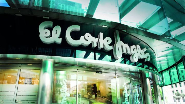 Puerta de El Corte Inglés de Castellana