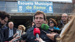 Madrid descarta contruir un canal para los remeros del Manzanares