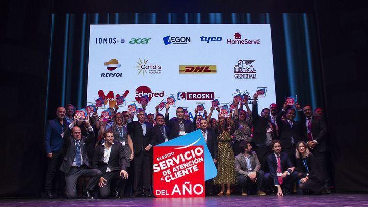 Los ganadores de la novena edición del Certamen de Líderes en Servicio.