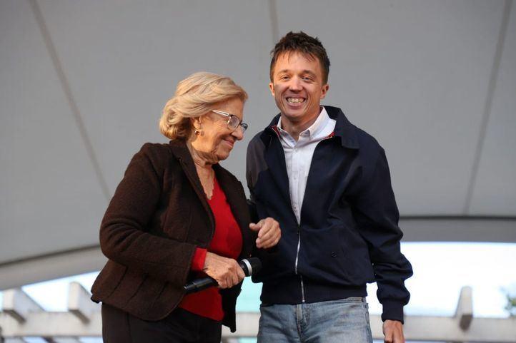 Carmena acompañará a Errejón en el cierre de campaña de Más País en Madrid