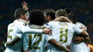 El Real Madrid vence 0-1 al Galatasaray en Champions.