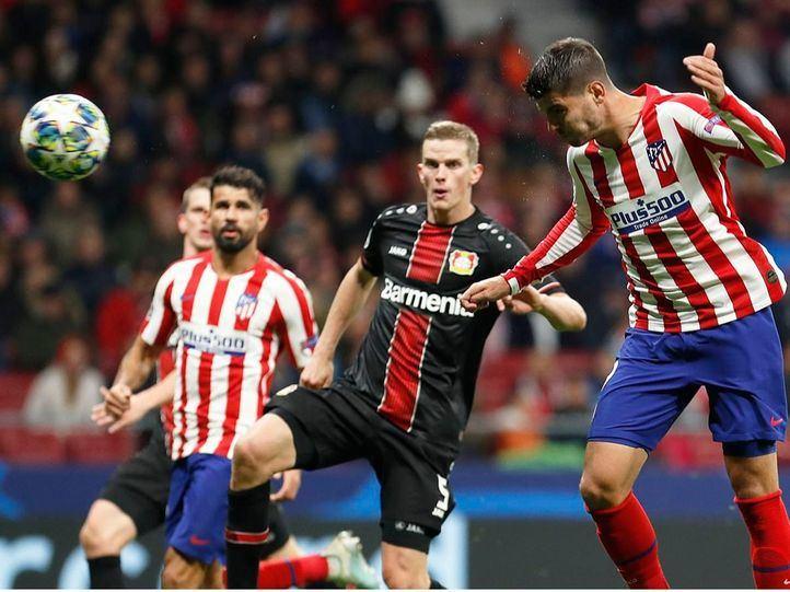 El Atlético de Madrid vence al Bayer Leverkusen en la Champions.