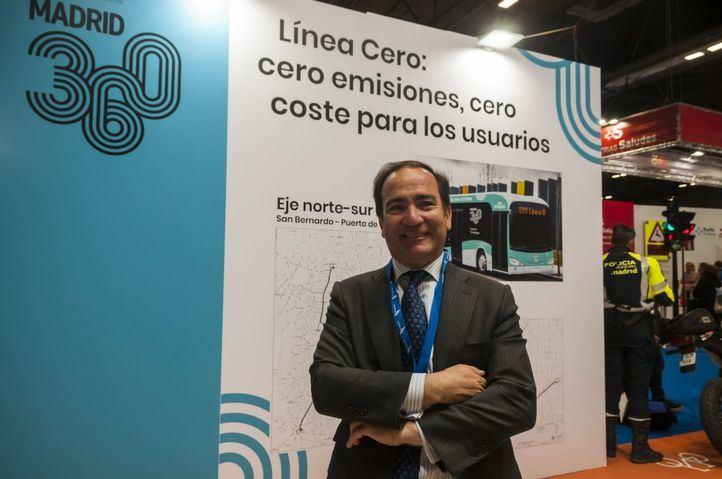 Borja Carabante, delegado de Medio Ambiente y Movilidad.