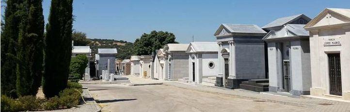 Vista general del Cementerio de Mingorrubio en El Pardo.