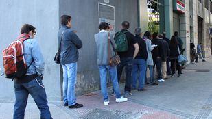 El paro baja en la Comunidad de Madrid.