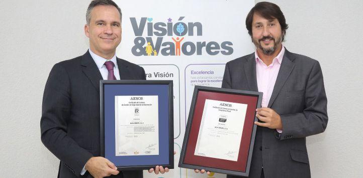 ALSA obtiene el certificado AENOR en Compliance Penal y el de Seguridad de la Información