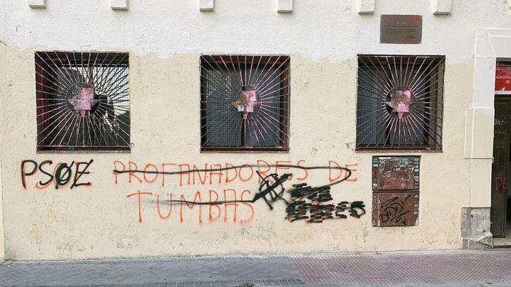 Ataques vandálicos en las Casas del Pueblo socialistas