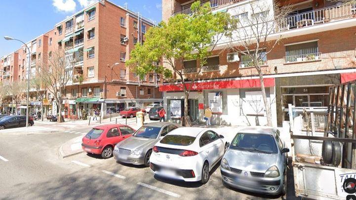 Imagen de la calle José Hierro, en el distrito de Ciudad Lineal de Madrid.