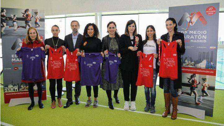 Presentación de la EDP Medio Maratón Mujer