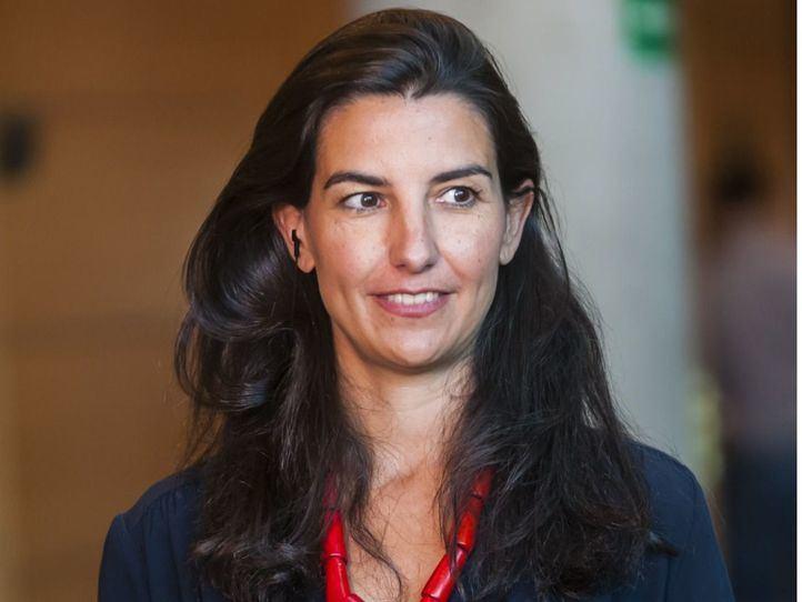 Rocío Monasterio, presidenta de Vox en Madrid