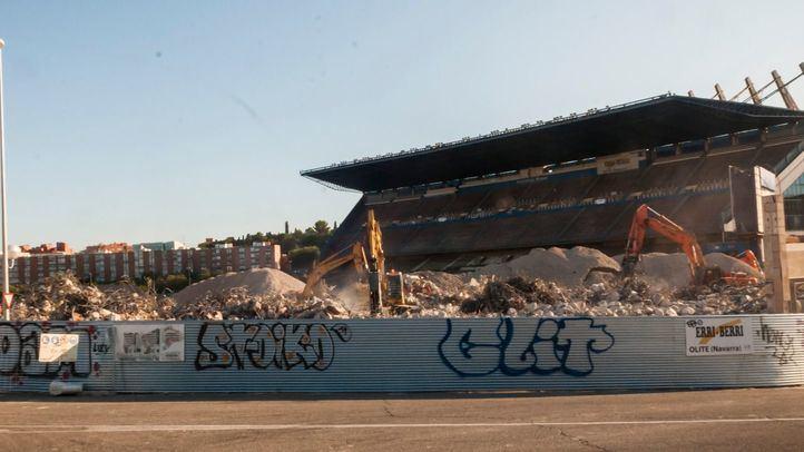 Los desvíos de la M-30 para demoler la grada del Calderón comenzarán el 7 de noviembre