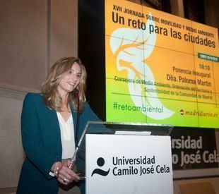 Paloma Martín, consejera de Medio Ambiente, Ordenación del Territorio y Sostenibilidad de la Comunidad de Madrid, protagonista de la ponencia inaugural del lunes