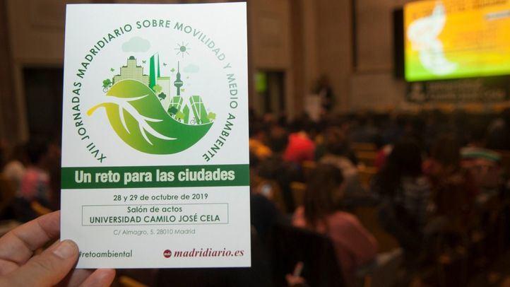 Las XVII Jornadas sobre Movilidad y Medio Ambiente organizadas por Madridiario.