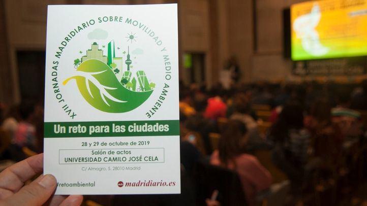 Cartel de las XVII Jornadas de Movilidad y Medio Ambiente de Madridiario.