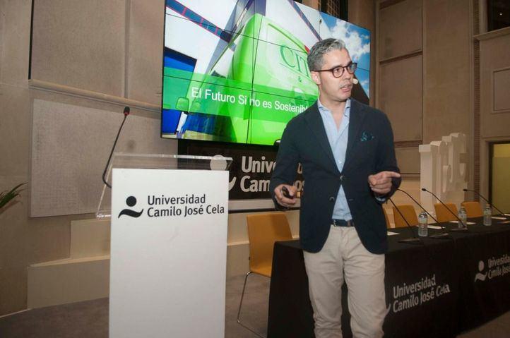 Daniel Latorre, colaborador de la Fundación Corell: