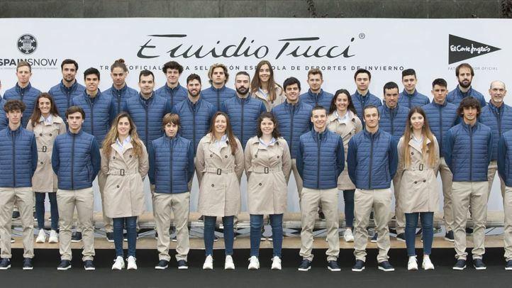 El Corte Inglés viste de Emidio Tucci a la Real Federación Española de Deportes de Invierno