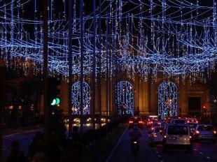 Vigo y Madrid 'compiten' por las mejores luces de Navidad
