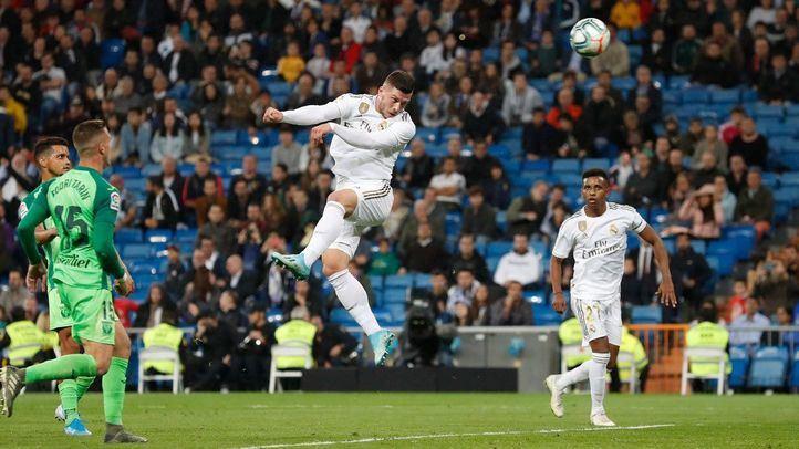 El Real Madrid por fin vence y convence con un 5:0 al Leganés