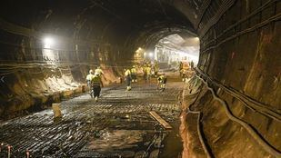El túnel de Recoletos reabrirá el próximo 17 de noviembre